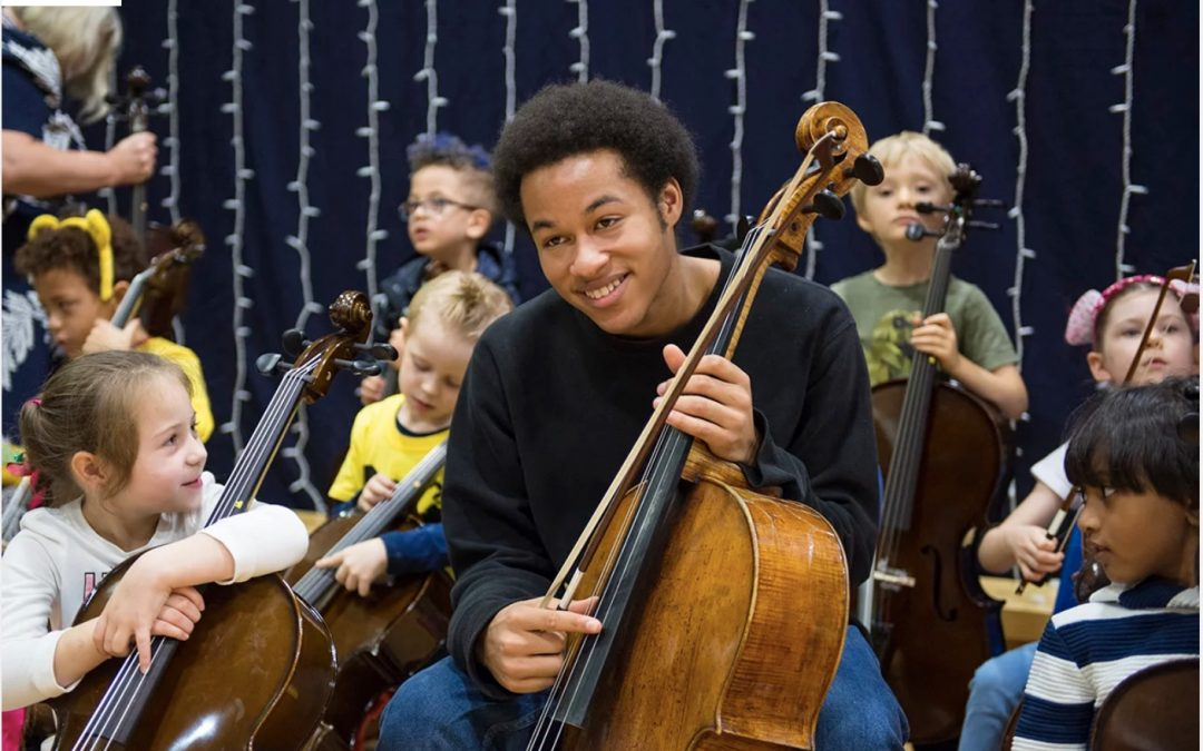Musician Inspiring the Next Generation of Cellist True Hearts Unite