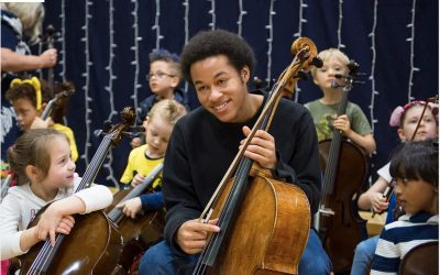 Musician Inspiring the Next Generation of Cellist – True Hearts Unite